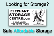 A Quality Storage Facility for the Okanagan Area - It's like a hotel for your goods with a valet (mobile) service.