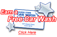 Sign up for a Membership Card and save the extra time you don't use when you finish washing your car